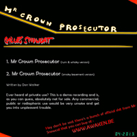 Mr Crown Prosecutor
